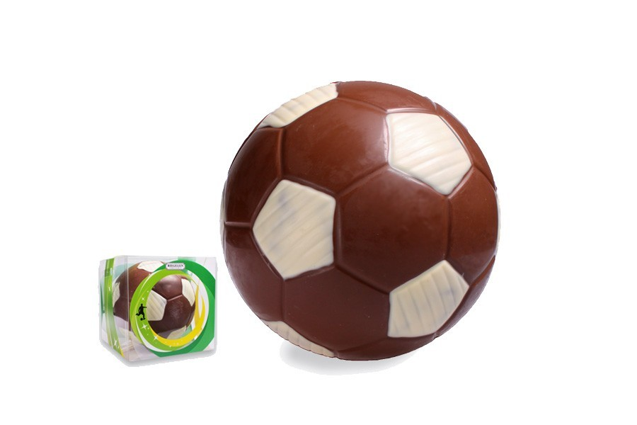 Leckere XXL-Schoko-Fußbälle zum Bundesliga-Start geschenkt