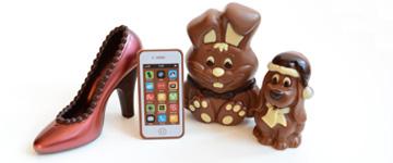 Schokoladenfiguren & Geschenke