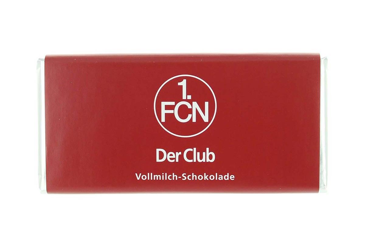Schokoladen-Tafel '1. FC Nürnberg'