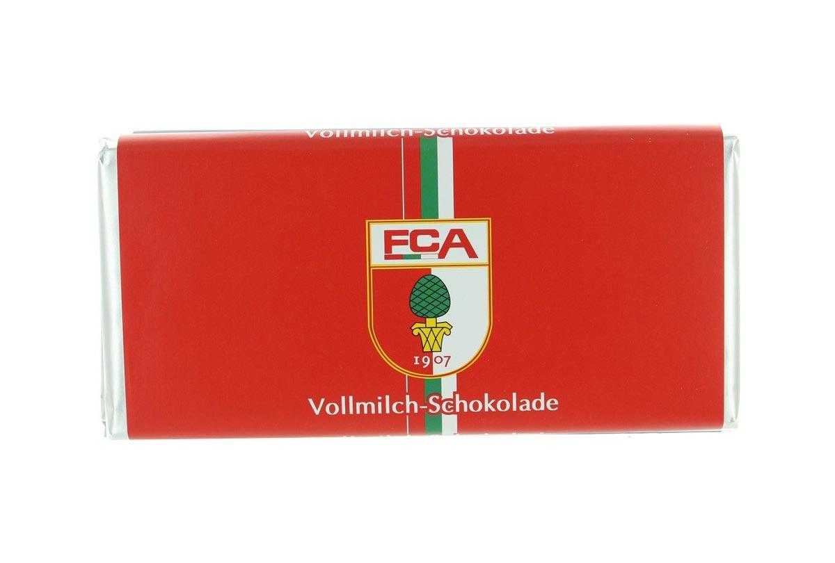 Schokoladen-Tafel 'FC Augsburg'