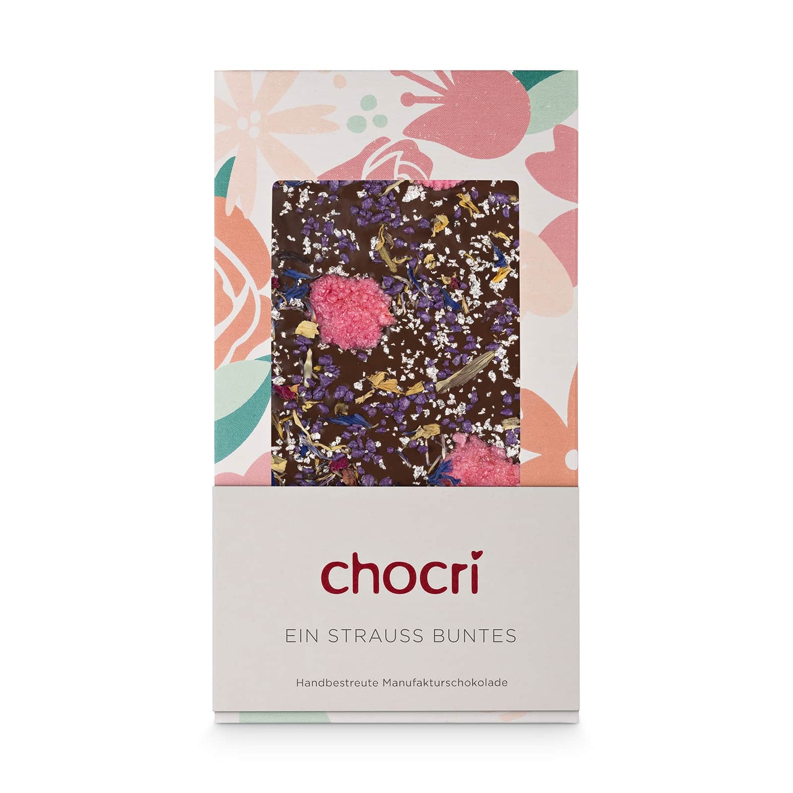 chocri 'Ein Strauß Buntes' Schokoladentafel