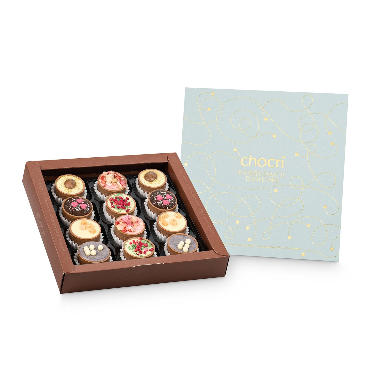 Köstlichsüsses - chocri 'Everyday's Darling' Cup Pralinenbox - Onlineshop Chocri