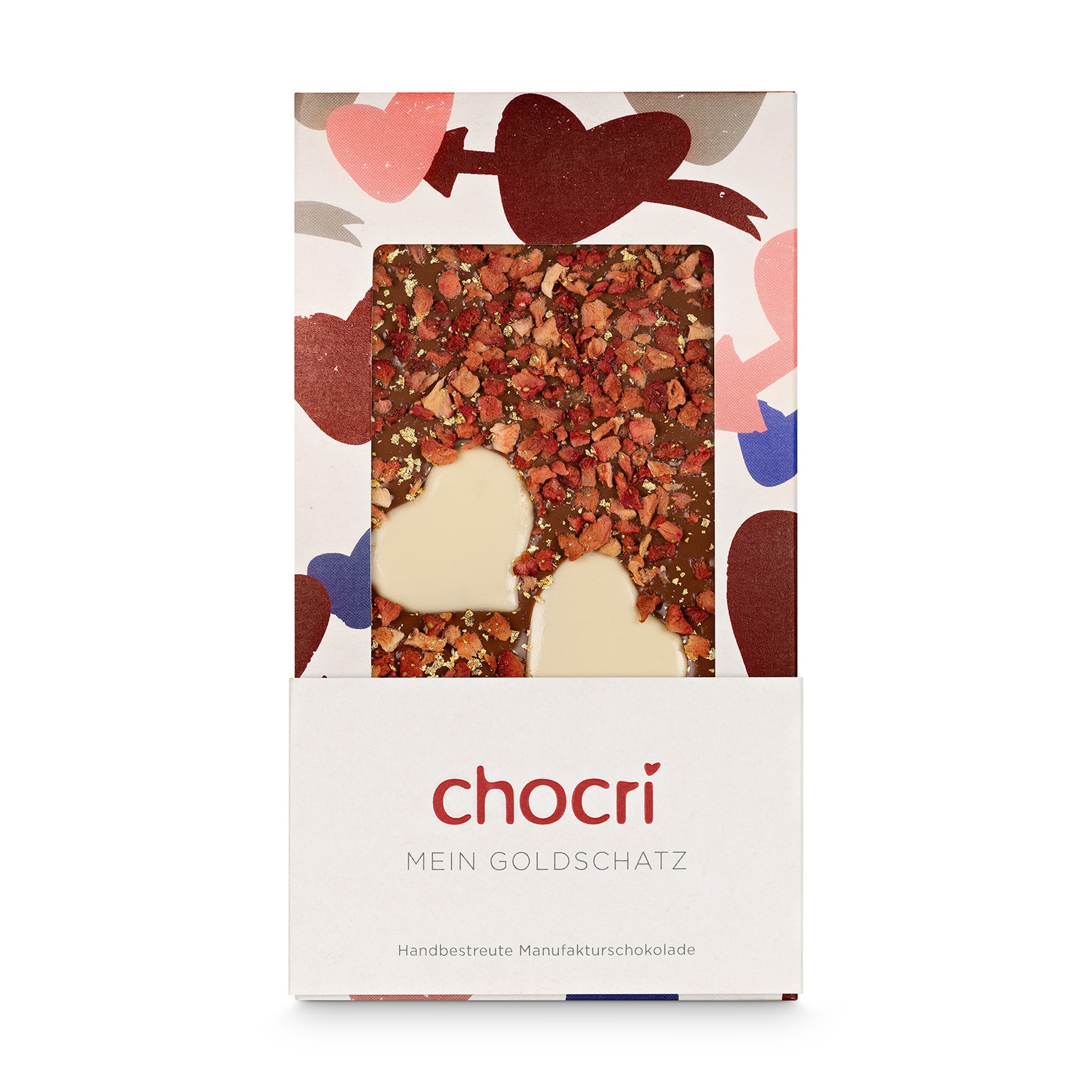 - chocri Mein Goldschatz Schokoladentafel - Onlineshop Chocri