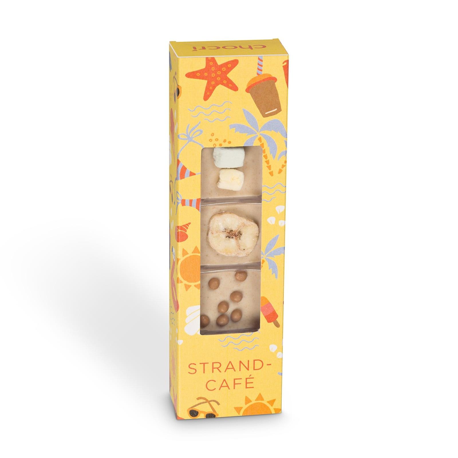 Köstlichsüsses - chocri Kleine Weltreise® 'Strandcafé' Mini Schokoladentafeln - Onlineshop Chocri