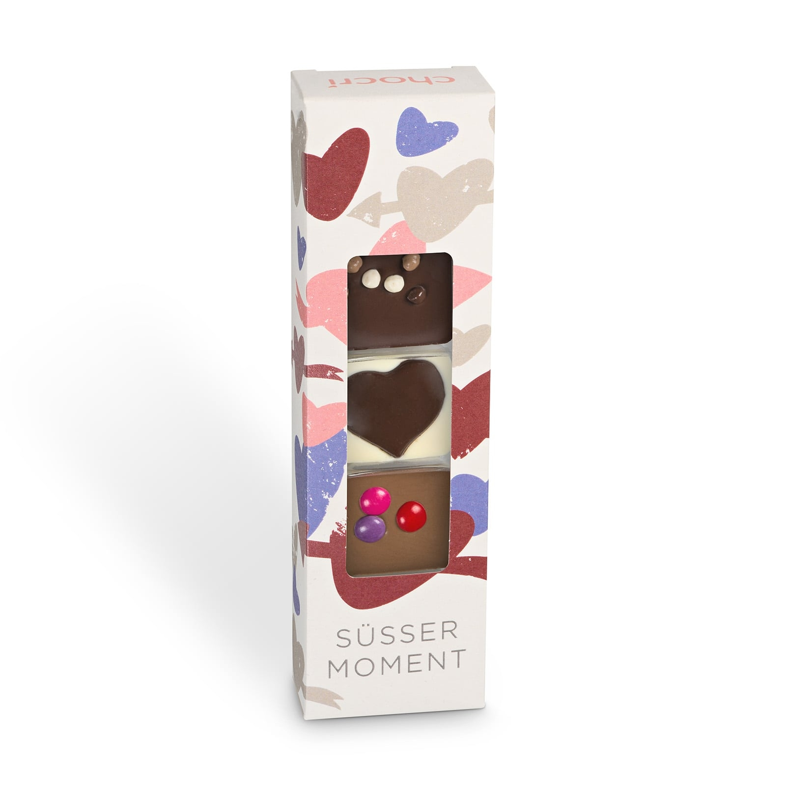 Köstlichsüsses - chocri 'Süßer Moment' Mini Schokoladentafeln - Onlineshop Chocri