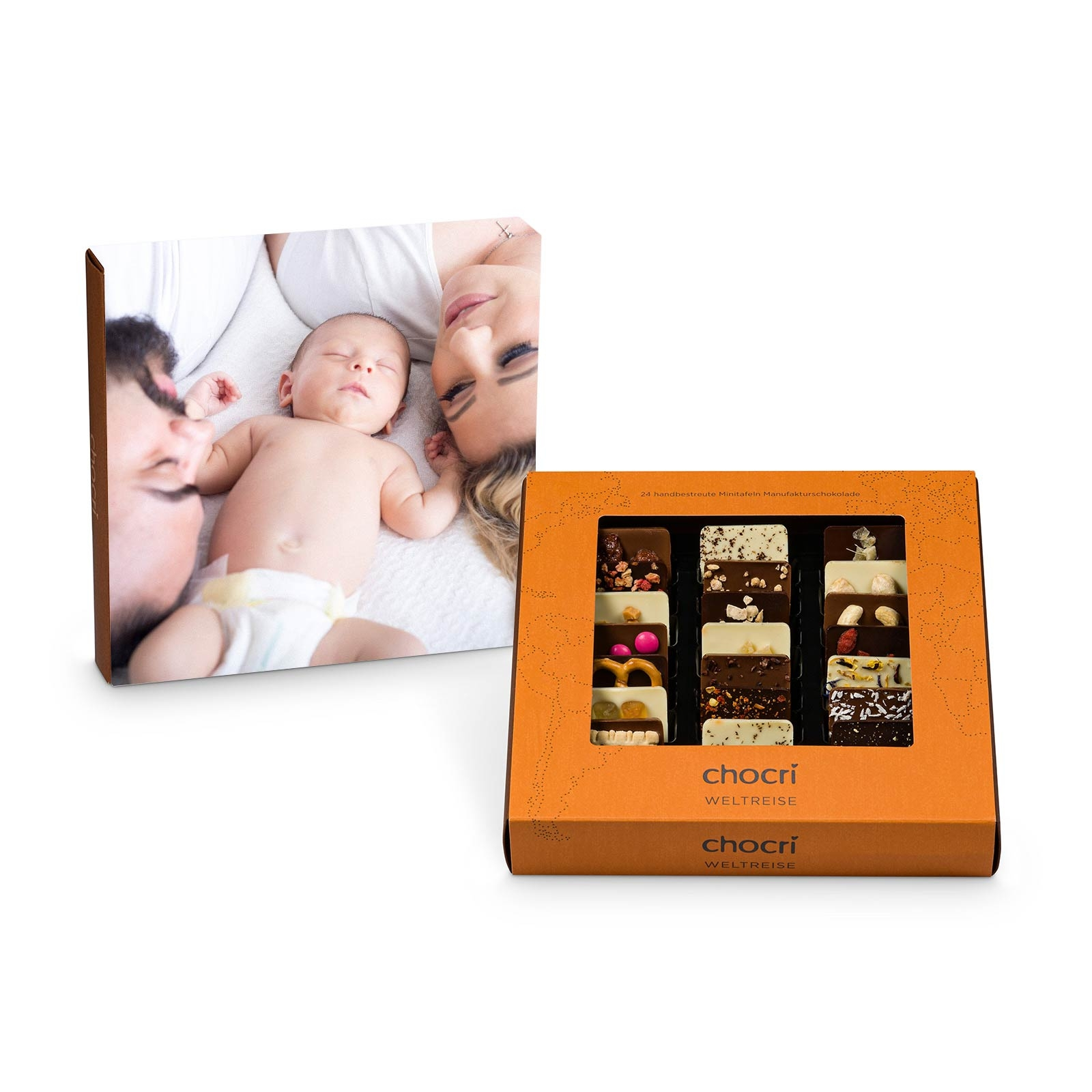 chocri Weltreise® 'Klassik' mit individueller Verpackung