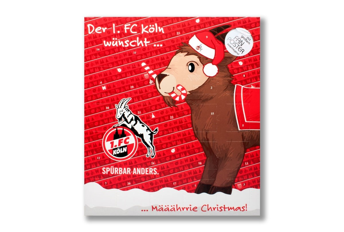 1 Fc Köln Adventskalender