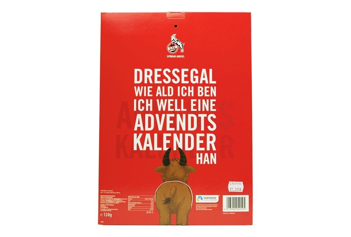 1. Fc Köln Adventskalender