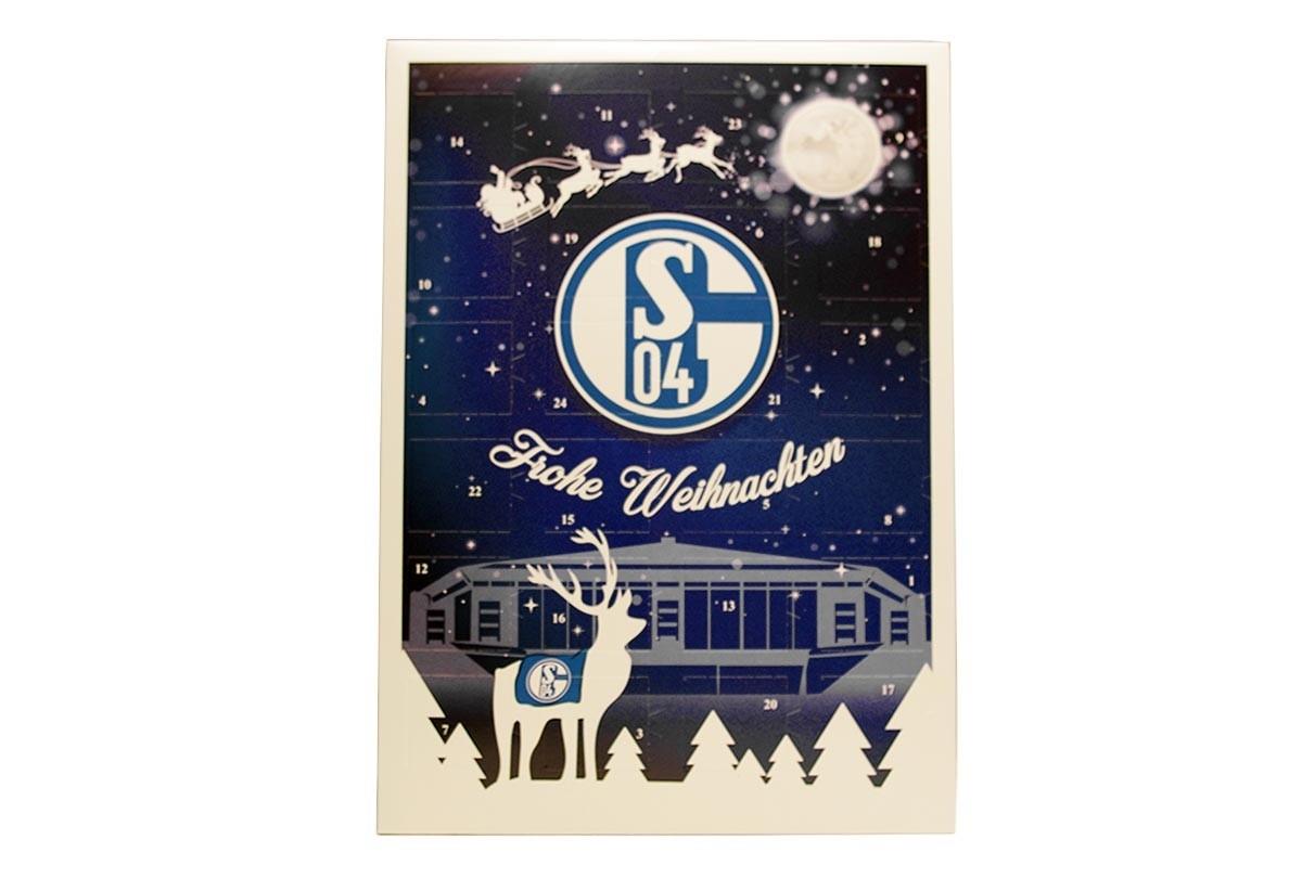 Schalke Bilder Weihnachten.Schoko Adventskalender Fc Schalke 04 Team Schokolade Chocri