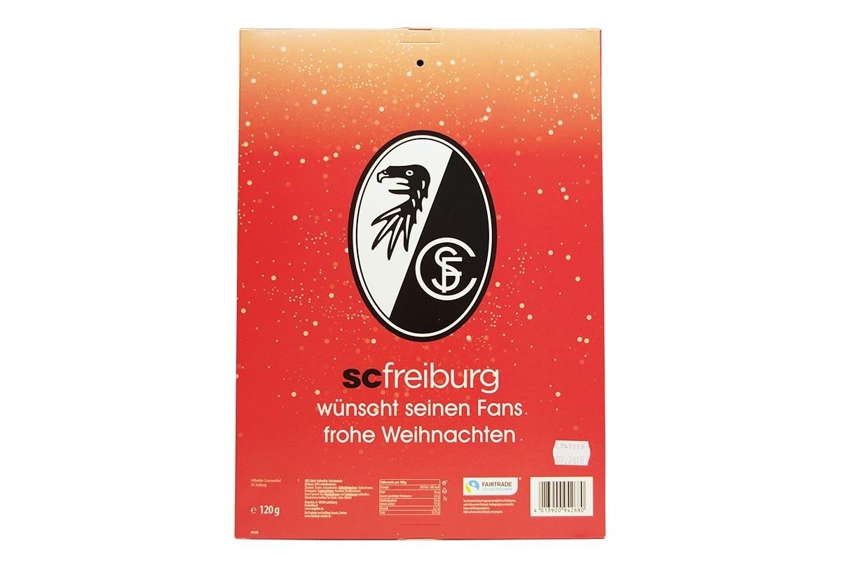 Fan-Shop Sweets SC Freiburg Adventskalender 2019