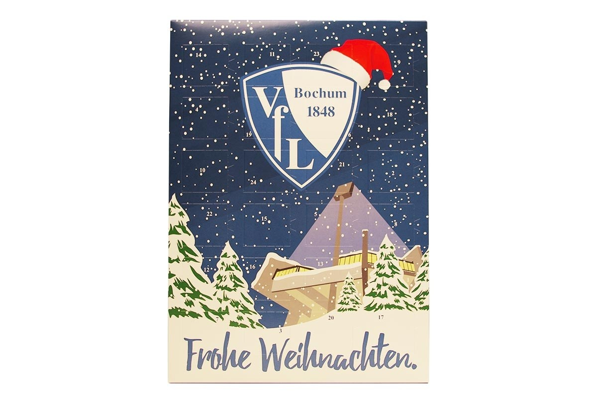 Schokoladen Weihnachtskalender.Schoko Adventskalender Vfl Bochum 1848 Team Schokolade Chocri