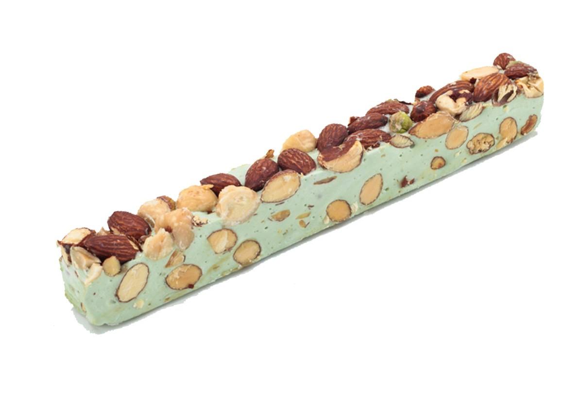 carlier nougatiers pistachio soft nougat riegel. Black Bedroom Furniture Sets. Home Design Ideas