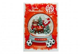 """Schoko-Adventskalender """"1. FSV Mainz 05"""" Vorderseite mit Motiv"""