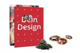 """Dein """"Individueller Adventskalender"""" mit 24 Schokoladen-Halbkugeln versüßt Dir den Advent auf die köstlichste Weise"""
