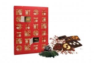 """Dein """"Adventskalender"""" mit 24 Mini-Schokoladen-Tafeln versüßt Dir den Advent auf die leckerste Weise"""