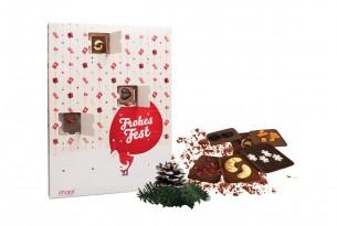 "chocri ""Veganer Adventskalender"" mit 24 veganen Mini-Schokoladen-Tafeln | chocri Schokoladen-Shop"