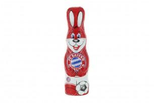 """Der Schoko-Osterhase des """"FC Bayern München"""" ist voll auf Ostern fokussiert"""