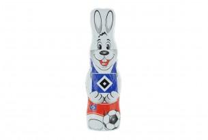 """Der Schoko-Osterhase des """"Hamburger SV"""" ist voll auf Ostern fokussiert"""