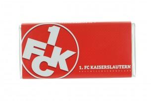 """Mit der Schokoladentafel des """"1. FC Kaiserslautern"""" schmeckt's einfach besser"""