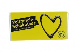 """Die Schokoladentafel von """"Borussia Dortmund"""" ist mit Liebe gemacht"""