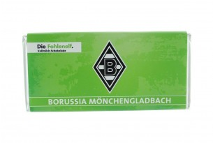 """Mit der Schokoladentafel von """"Borussia Mönchengladbach"""" schmeckt's einfach besser"""