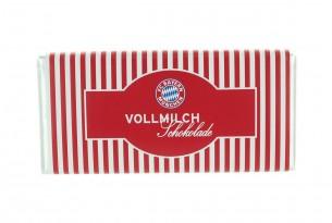 """Mit der Schokoladentafel des """"FC Bayern München"""" schmeckt's einfach besser"""
