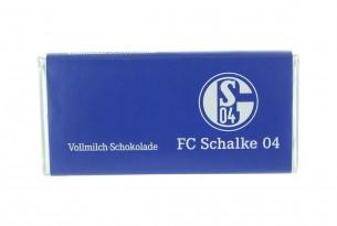 """Mit der Schokoladentafel des """"FC Schalke 04"""" schmeckt's einfach besser"""