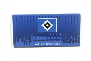 """Mit der Schokoladentafel des """"Hamburger SV"""" schmeckt's einfach besser"""