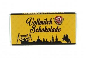 """Mit der Schokoladentafel der """"SG Dynamo Dresden"""" schmeckt's einfach besser"""