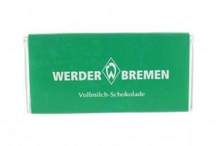 """Mit der Schokoladentafel des """"SV Werder Bremen"""" schmeckt's einfach besser"""