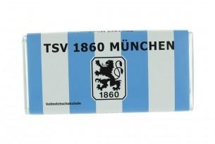 """Mit der Schokoladentafel des """"TSV1860 München"""" schmeckt's einfach besser"""