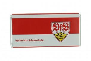 """Mit der Schokoladentafel des """"VfB Stuttgart"""" schmeckt's einfach besser"""