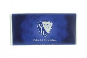 """Mit der Schokoladentafel des """"VfL Bochum 1848"""" schmeckt's einfach besser"""