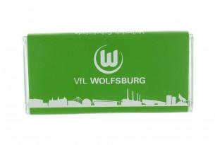 """Mit der Schokoladentafel des """"VfL Wolfsburg"""" schmeckt's einfach besser"""