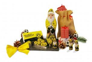 """Das Weihnachts-Schoko-Fanpaket von """"Borussia Dortmund"""" macht sogar Weihnachten zum Fußball-Fest"""