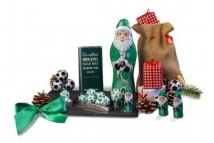 """Das Weihnachts-Schoko-Fanpaket des """"SV Werder Bremen"""" macht sogar Weihnachten zum Fußball-Fest"""
