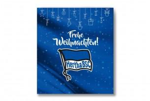 """Premium Schoko-Adventskalender """"Hertha BSC"""" Vorderseite mit Motiv"""