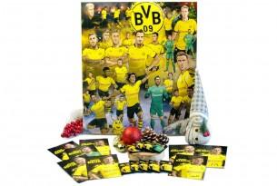"""Der BVB-Comic-Adventskalender von """"Borussia Dortmund"""" steckt voller Schokolade und bietet jede Menge Überraschungen"""