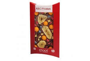 "chocri ""ABC-Piraten"" Schokoladen-Tafel"