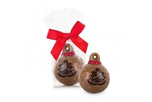 """Belfine """"Xmas Tree"""" Schoko-Weihnachtskugel"""