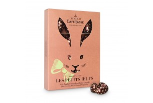 Café Tasse 'Easter Rabbit Box' Dark Chocolate Almond & Crepes in der Verpackung