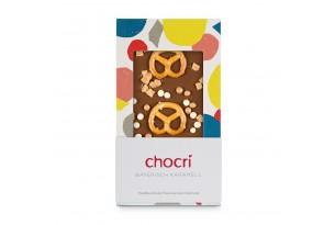 chocri 'Bayerisch Karamell' Schokoladentafel verpackt