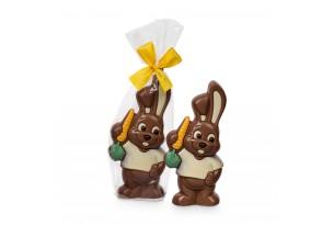 chocri / Belfin Schokoladen-Osterhase in einer durchsichtigen Verpackung