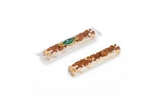 chocri / Carlier Nougatiers Soft-Nougat-Riegel mit Mandeln und Haselnüssen in durchsichtiger Folie/Verpackung