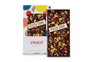 chocri 'Einfach So' Schokoladen-Tafel ausgepackt