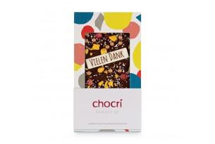 chocri 'Einfach So' Schokoladen-Tafel eingepackt