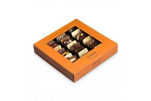 """chocri Schokoladenmix Weltreise """"Klassik"""" mit Zutaten aus aller Welt wie Chili in der klassischen Verpackung"""