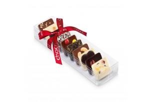 """chocri Schokoladentafelmix kleine Weltreise """"Für Die beste Mama"""" mit liebevollen Zutaten in der Verpackung"""