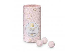 Love Cocoa Handmade Pink Gin Truffles mit Verpackung