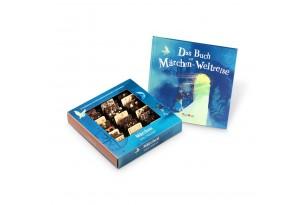 YouHou 'Märchen-Weltreise®' Mini-Schokoladentafeln in fantastischer Geschenkbox mit Märchenbuch